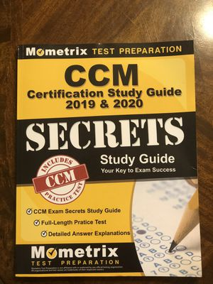 CCM (Certified Case Manager) Certification study guide for Sale in Houston, TX