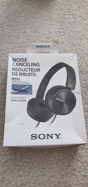 Sony Noise-Cancelling Headphones for Sale in San Jose, CA