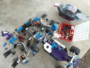 Gas rc Losi dbxl mostly upgraded with extra motor and parts for Sale in Cochran, GA
