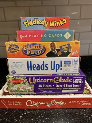 Set of games and puzzle for Sale in Laveen Village, AZ