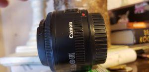 Canon 50mm lense for Sale in Auburn, WA