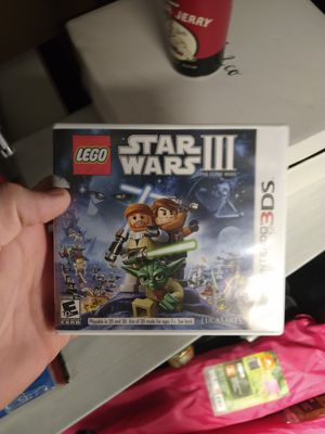Legos Star wars 3 3ds game for Sale in North Las Vegas, NV