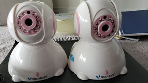 2 Home Security Camera $20 each for Sale in Tacoma, WA