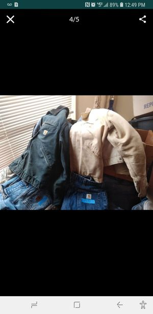 Carhartt jackets, pants, overalls weve got everything carharrt for Sale in Gresham, OR