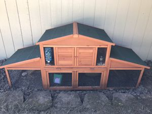 Outdoor rabbit cage for Sale in Battle Ground, WA