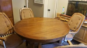 Very nice mahogany table for Sale in Wichita, KS