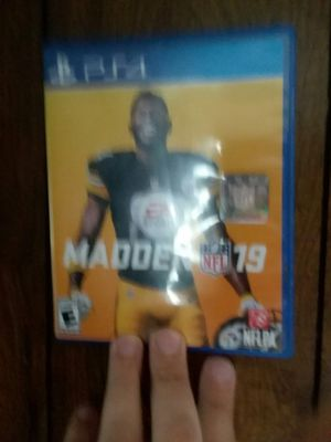 Game ps4 madden19 for Sale in Middleburg, PA