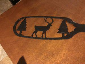 Metal Wall decor elk/deer for Sale in Menomonie, WI