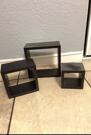 Square wall shelves for Sale in Orlando, FL