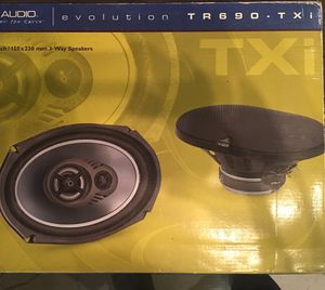 New JL AUDIO TR690-TXI speakers (pair) for Sale in Gilroy, CA