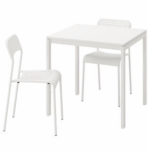 2 seater ikea dining table and chair for sale for Sale in Peoria, IL