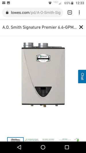 AO Smith tankless water heater for Sale in Federal Way, WA