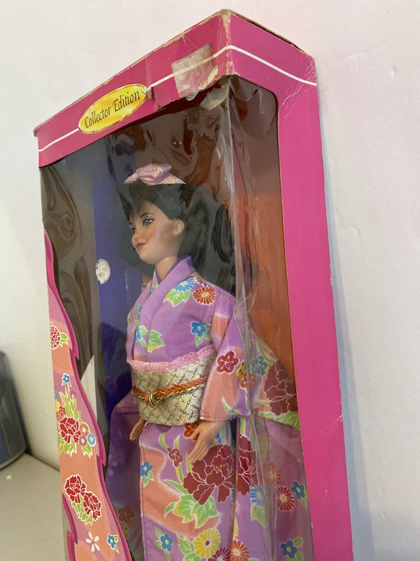 JAPANESE BARBIE BY MATTEL 1994 #14163 C.E. DOLLS OF THE WORLD COLLECTION NIB!