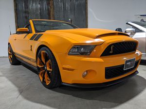 2012 Ford mustang Shelby GT500 convertible supercharged 5.4L Manual 6-speed RWD, performance package, fully loaded premium wheels 19 in. for Sale in San Antonio, TX