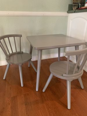 Kids Three Piece Writing Table and Chairs for Sale in Chino, CA