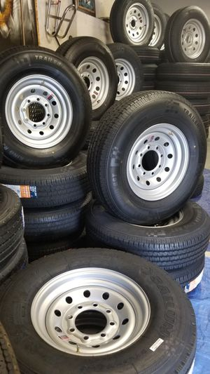 NEW TRAILER AND CAMPER TIRES/WHEELS STARTING AT $70+ TAX for Sale in Douglasville, GA