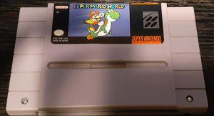 Super Nintendo super Mario world for Sale in Fresno, CA