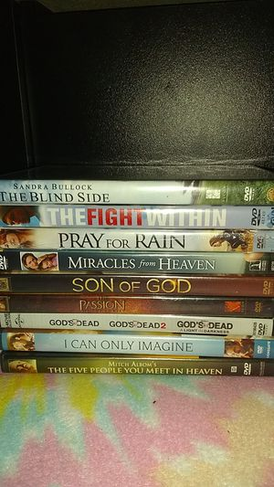 Collection of Christian movies for Sale in Cumberland, VA