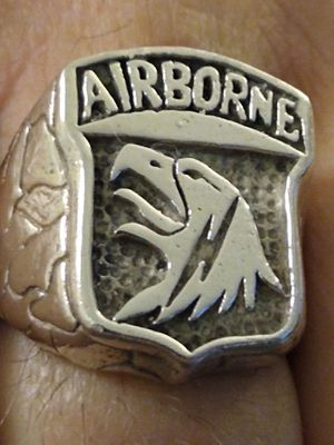 Solid sterling silver Army ring for Sale in Port St. Lucie, FL