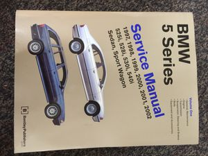 BMW 5 Series - Service Manual Volume 1 & 2 for Sale in Mountain View, CA