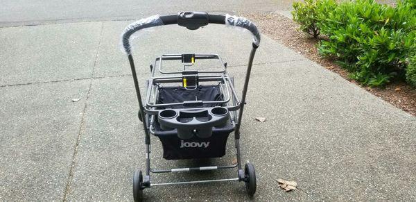 Joovy twin roo +car seat stroller