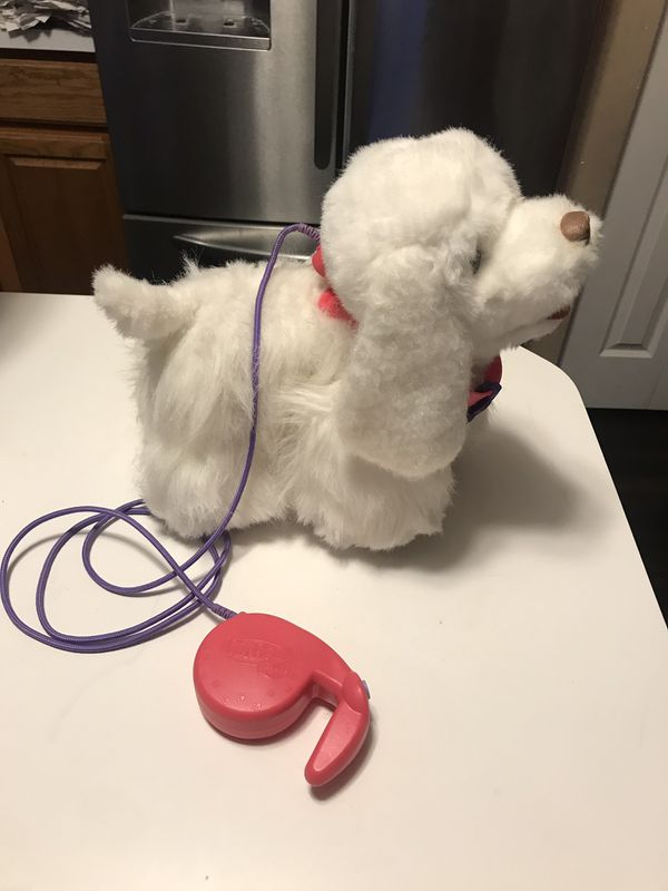 FurReal Friends Walking pup dog! Really walks with leash. Batteries included.