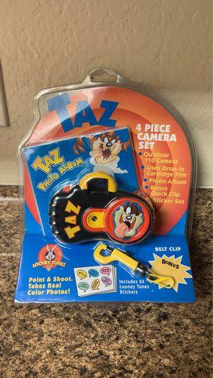 Taz Photo Album 4 Piece Camera Set 1998 👀 for Sale in San Antonio, TX