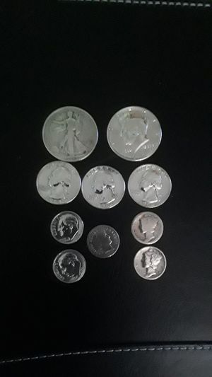 SILVER KENNEDY, WALKING LIBERTY, WASHINGTON QUARTERS, ROOSEVELT, MERCURY, BARBER DIMES for Sale in Bell Gardens, CA