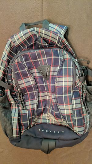 North face WASATCH BACKPACK in excellent condition for Sale in Palmdale, CA