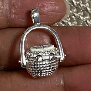 C C Nantucket Basket Charm Pendant. for Sale in West Covina, CA