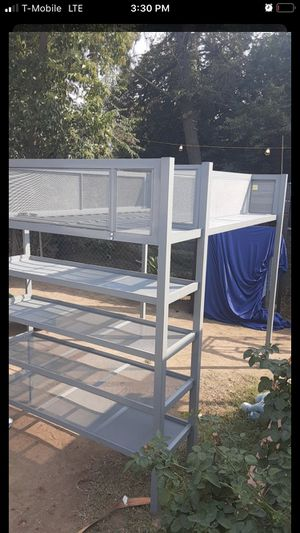 BUNKBED WITH SHELVES NICE for Sale in Stockton, CA