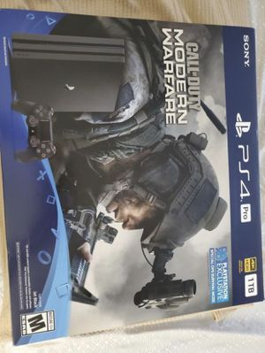 PS4 Pro Modern warfare bundle for Sale in North Miami Beach, FL