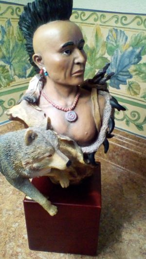 Native American statues montefiori collection for Sale in Imperial Beach, CA