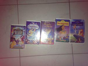 5 Set Disney VHS Movies for Sale in Largo, FL