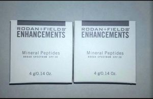 Lot of 2 RODAN & FIELDS ENHANCEMENTS MEDIUM MINERAL PEPTIDES BROAD SPECTRUM SPF20 for Sale in Phoenix, AZ