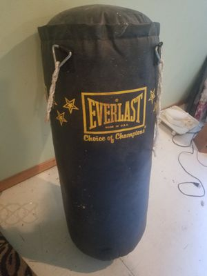 Everlast punching bag for Sale in Snohomish, WA