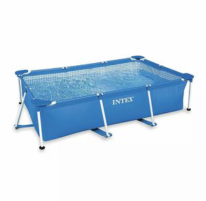 Intex 8.5ft x 26in Rectangular Frame Above Ground Backyard Swimming Pool for Sale in Castro Valley, CA