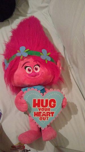 Trolls cute pink hair baby for Sale in Virginia Beach, VA