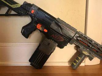 Custom Painted Nerf N-Strike Elite Retaliator Blaster for Sale in Campbell,  CA