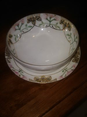 NIPPON Footed Soup Bowl with matching Saucer for Sale in Punta Gorda, FL