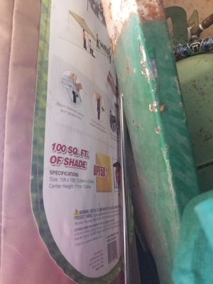 100 foot shade tent for Sale in Redding, CA