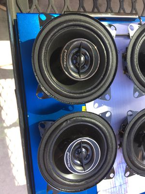 "Pioneer TS-G1045R Car Audio 4"" 2-Way G-Series Coaxial Speakers 210 Watts New for Sale in Fresno, CA"