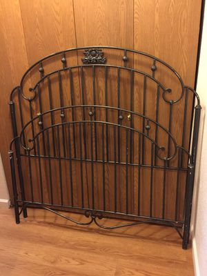 FullSize Iron Bed Frame for Sale in Olympia, WA