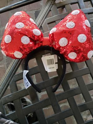 Disney Minnie mouse headband ears NWT for Sale in Whittier, CA