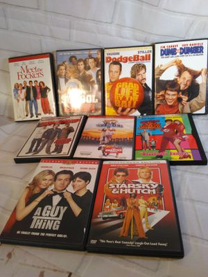 9 comedy humor funny DVD wholesale lot movies for Sale in Belmont, MA