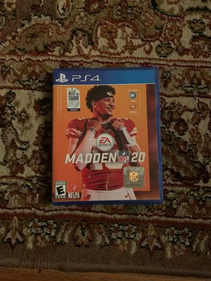 Madden 20 PS4 for Sale in Olney, MD