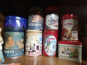 Holiday Tins Lifesavers Hershey & More for Sale in Hesperia, CA