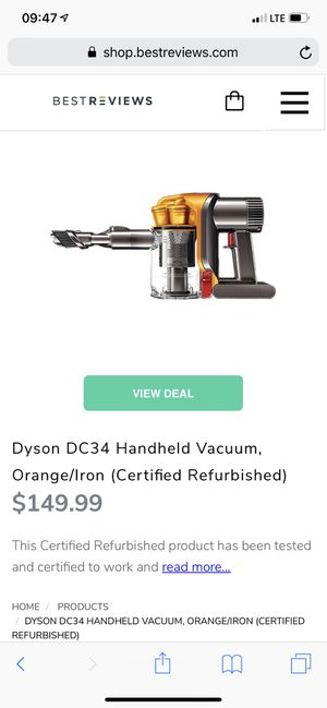 DYSON hand held works perfect for Sale in Austin, TX