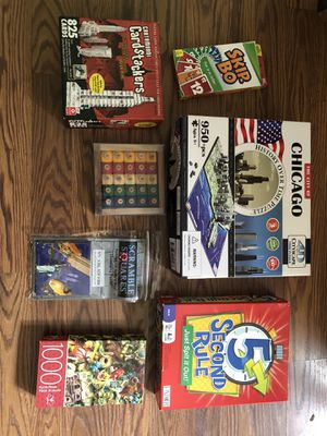 (7) Games and puzzles - Bartlett, IL for Sale in Ontarioville, IL