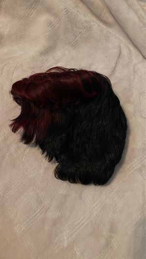 Black and Burgundy Short Wig for Sale in Baton Rouge, LA
